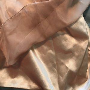 TS COUTURE Dresses - NWT Size 14 dress (Champaign) (Chiffon fabric)